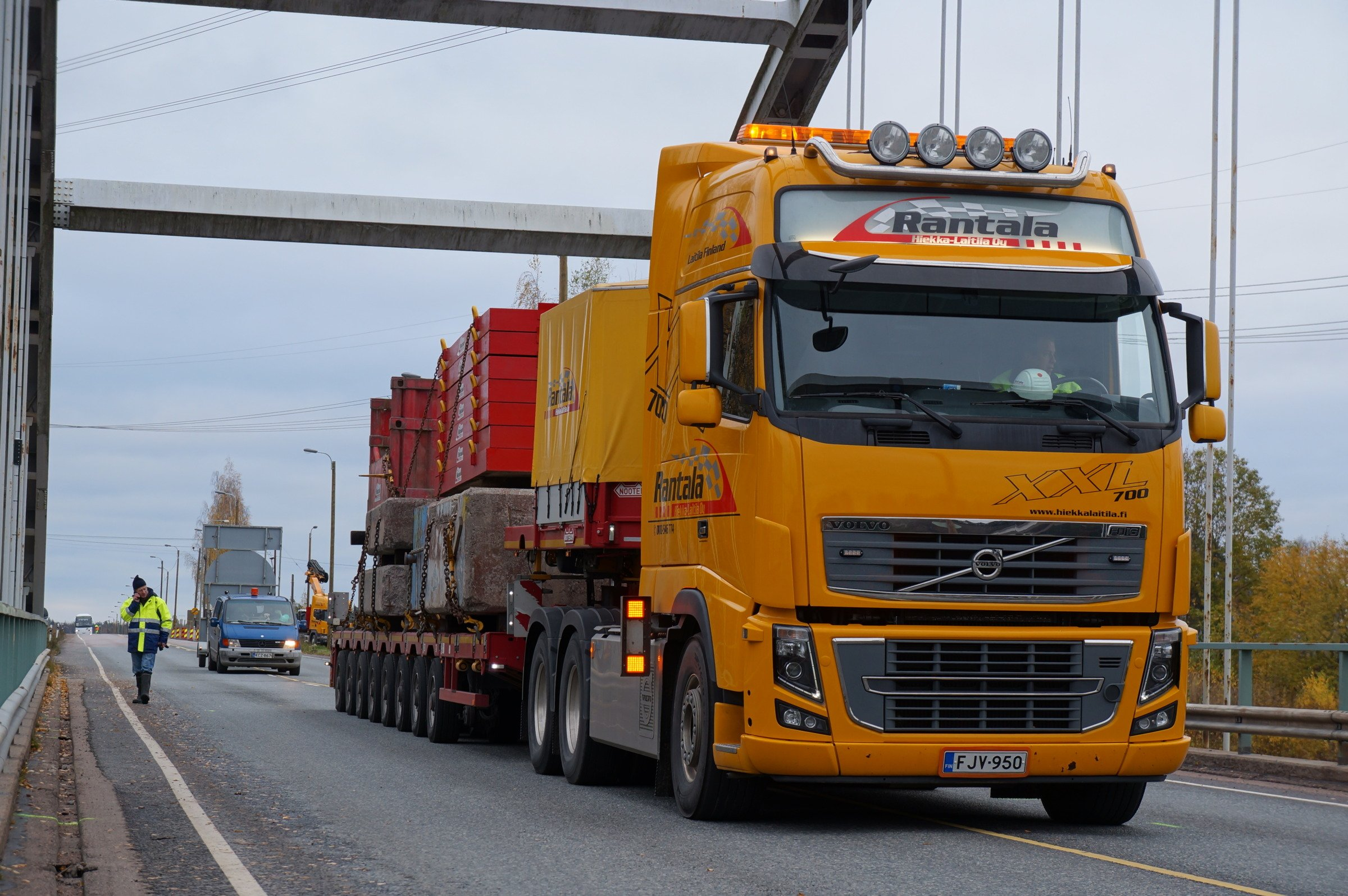 Bridge load testing